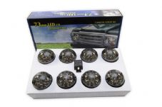 DEFENDER SMOKED LED LIGHT SET NAS SPEC DA1143SM